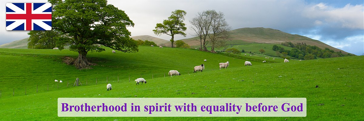 Brotherhood in spirit with equality before God